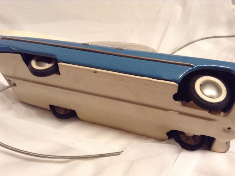 1959 RUSSIAN TIN TOY LIMOUSINE CADILLAC  425