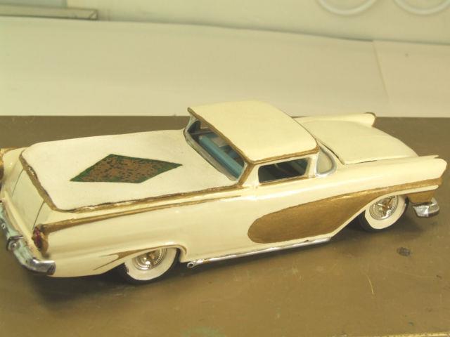Vintage built automobile model kit survivor - Hot rod et Custom car maquettes montées anciennes - Page 3 53614410