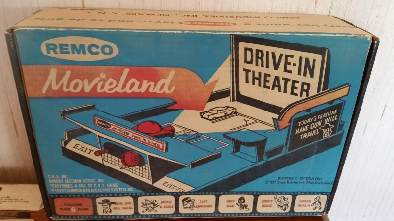 REMCO MOVIELAND DRIVE IN THEATER 537