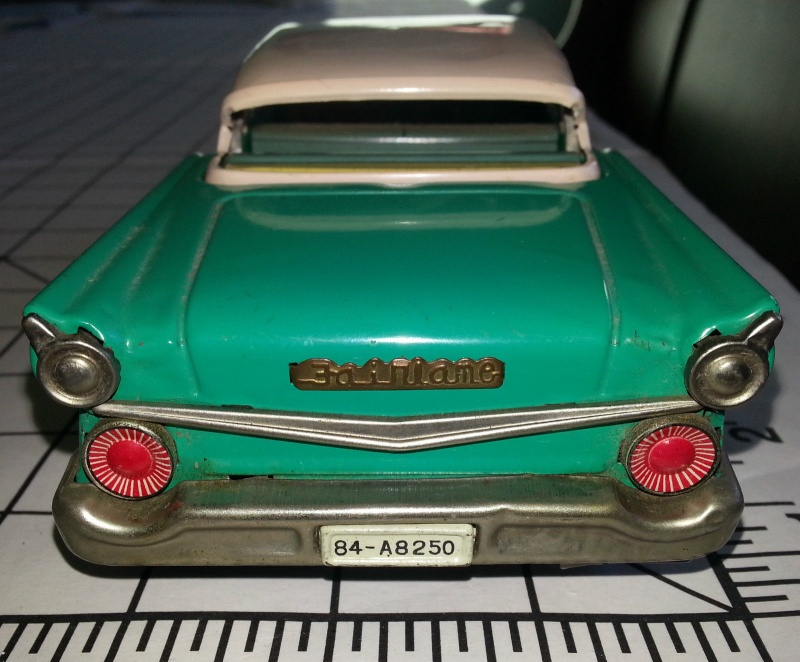 us car -  tôle - Tin Toys -  1950's & 1960's - Page 3 639