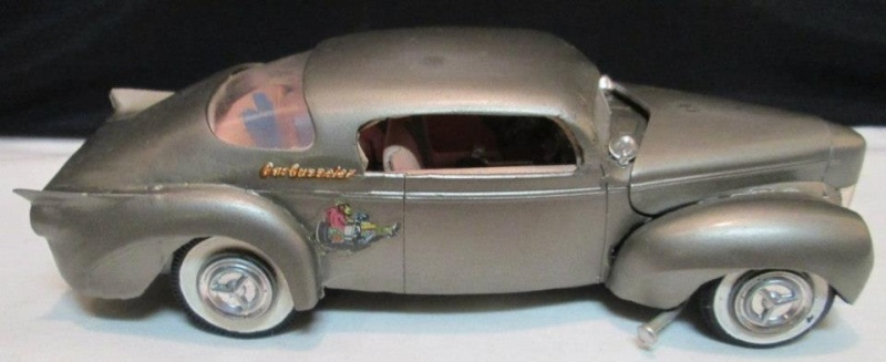 1939 - 40 Ford Coupe - Trophy series - amt - 1/24 scale  97202610