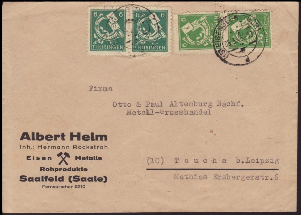 Thüringen (OPD Erfurt) -Sowjetische Besatzungszone- - Seite 2 95bc10