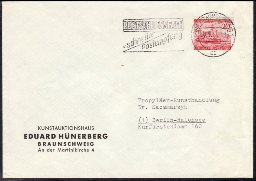 Bundesrepublik Deutschland  -  Einzel- und Mehrfachfrankaturen D15210