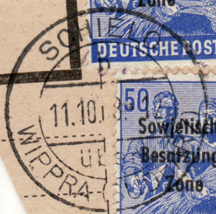 1945 - Deutschland  -  Landpoststempel (Poststellenstempel) - Seite 2 Psr20010