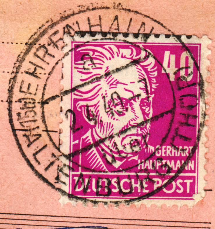 nach - Deutschland  -  Landpoststempel (Poststellenstempel) - Seite 2 Psr20012