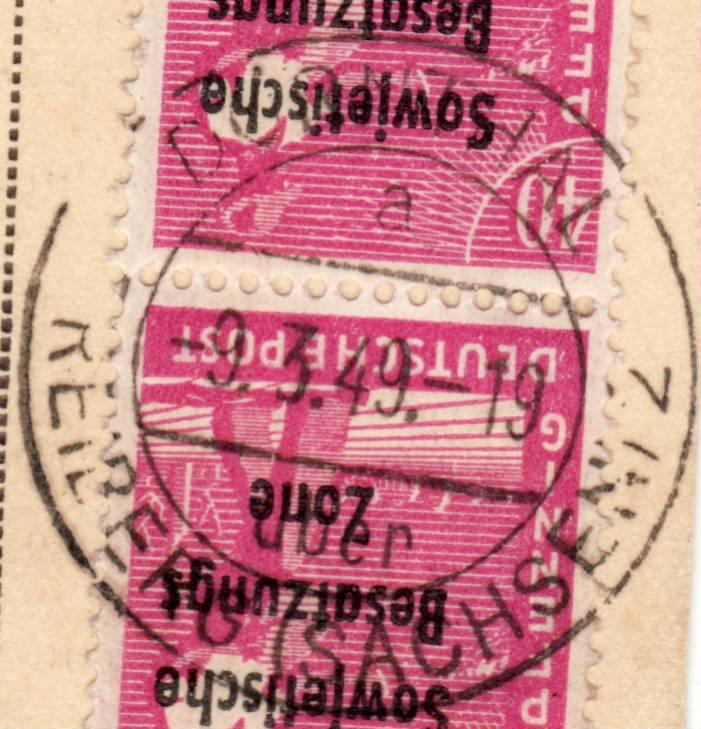 1945 - Deutschland  -  Landpoststempel (Poststellenstempel) - Seite 2 Psr20013