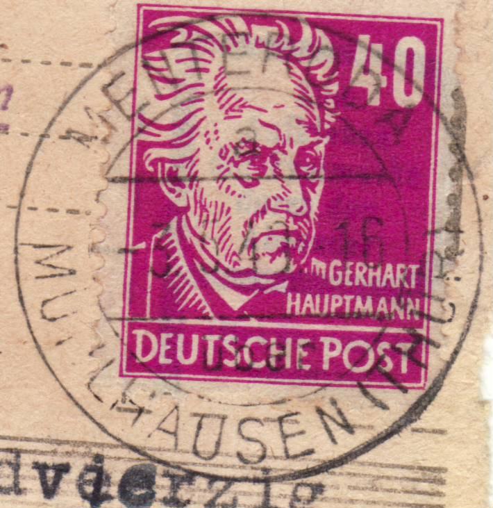 1945 - Deutschland  -  Landpoststempel (Poststellenstempel) - Seite 2 Psr20014