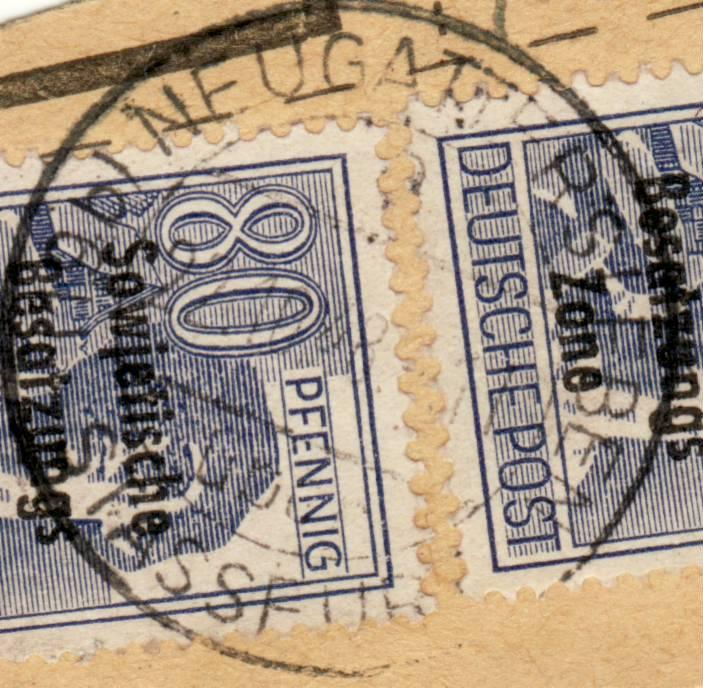 nach - Deutschland  -  Landpoststempel (Poststellenstempel) - Seite 2 Psr20015