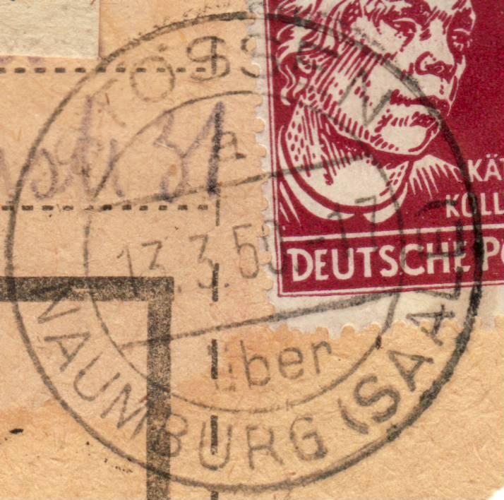 nach - Deutschland  -  Landpoststempel (Poststellenstempel) - Seite 2 Psr20016
