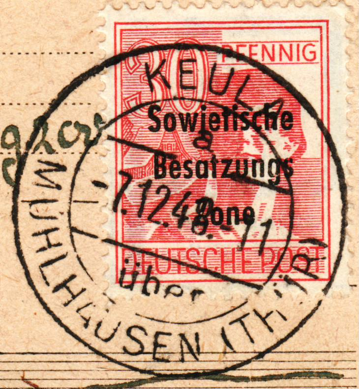 1945 - Deutschland  -  Landpoststempel (Poststellenstempel) - Seite 2 Psr20017