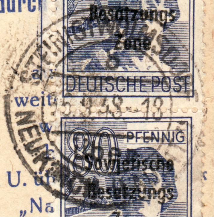 1945 - Deutschland  -  Landpoststempel (Poststellenstempel) - Seite 2 Psr20018