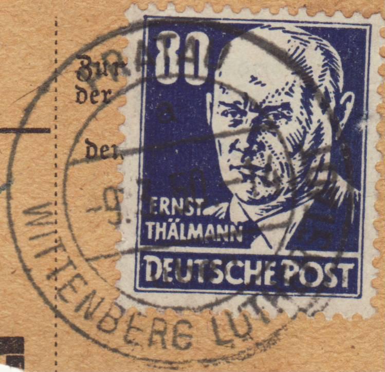 1945 - Deutschland  -  Landpoststempel (Poststellenstempel) - Seite 2 Psr20019