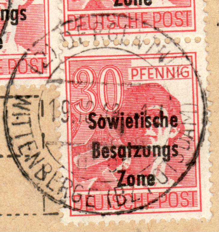 1945 - Deutschland  -  Landpoststempel (Poststellenstempel) - Seite 2 Psr20020