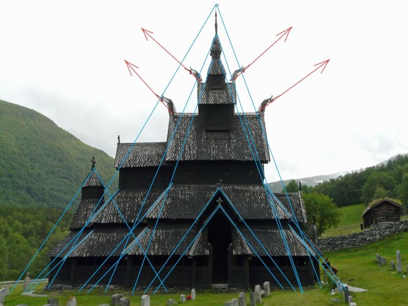 """Norvège : Les """"stavkirke"""", églises en """"bois debout"""", et secondairement bien d'autres aspects de ce magnifique pays et de sa culture... - Page 6 Dragon10"""