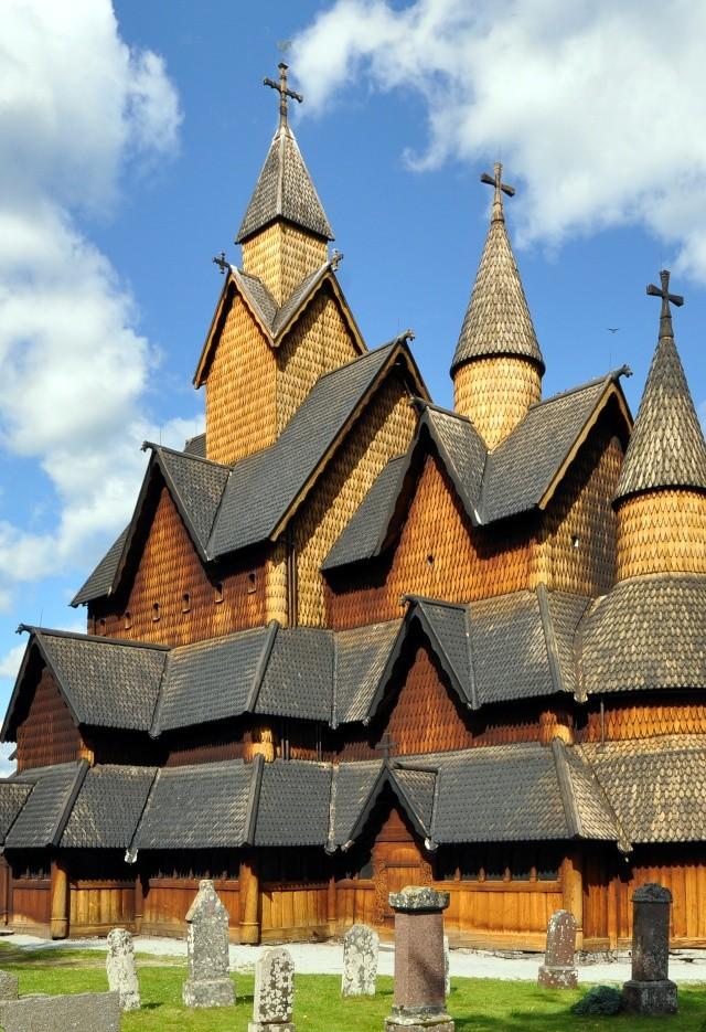 """Norvège : Les """"stavkirke"""", églises en """"bois debout"""", et secondairement bien d'autres aspects de ce magnifique pays et de sa culture... - Page 9 Heddal17"""