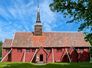 """Norvège : Les """"stavkirke"""", églises en """"bois debout"""", et secondairement bien d'autres aspects de ce magnifique pays et de sa culture... - Page 9 Kverne11"""