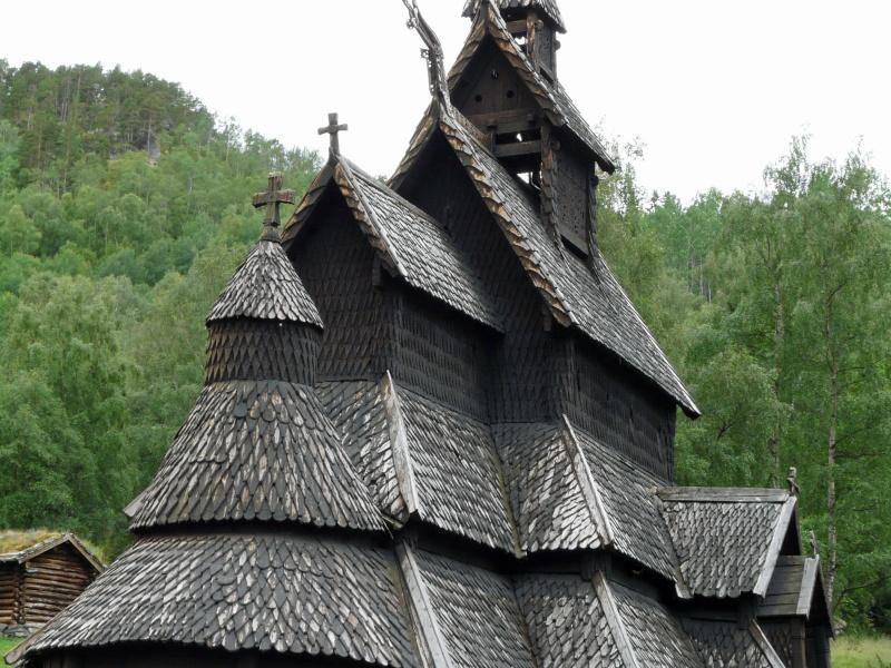 """Norvège : Les """"stavkirke"""", églises en """"bois debout"""", et secondairement bien d'autres aspects de ce magnifique pays et de sa culture... P1040817"""