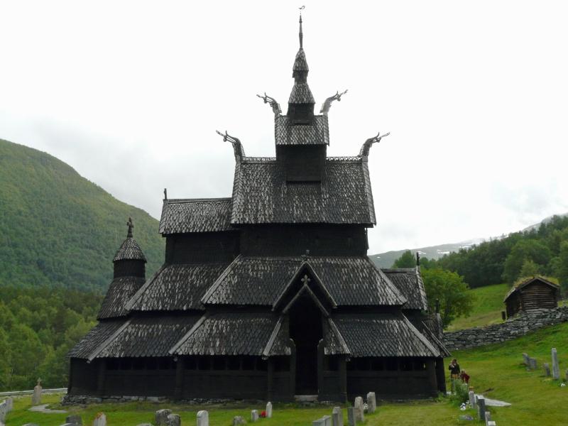 """Norvège : Les """"stavkirke"""", églises en """"bois debout"""", et secondairement bien d'autres aspects de ce magnifique pays et de sa culture... P1040911"""