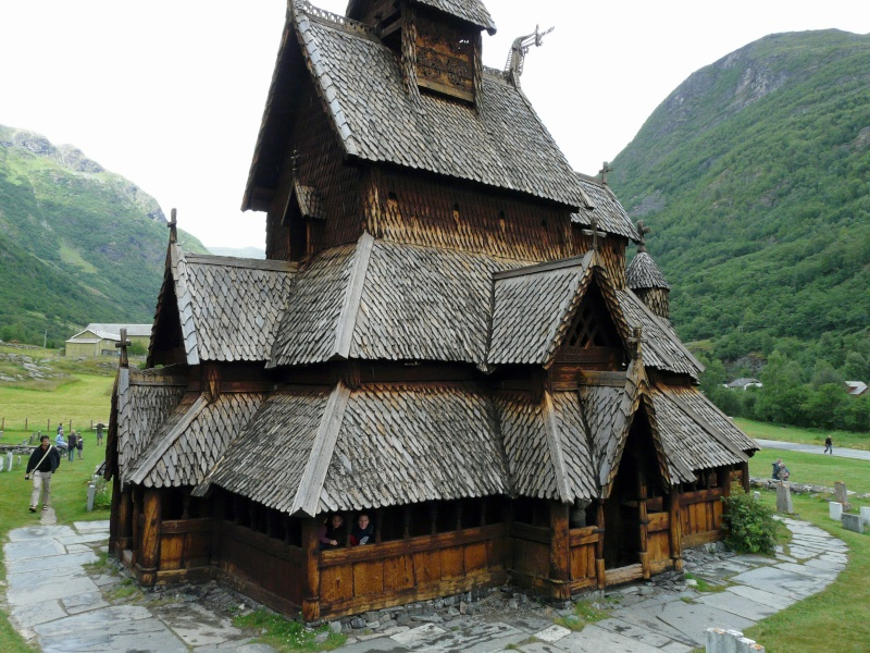 """Norvège : Les """"stavkirke"""", églises en """"bois debout"""", et secondairement bien d'autres aspects de ce magnifique pays et de sa culture... P1040913"""