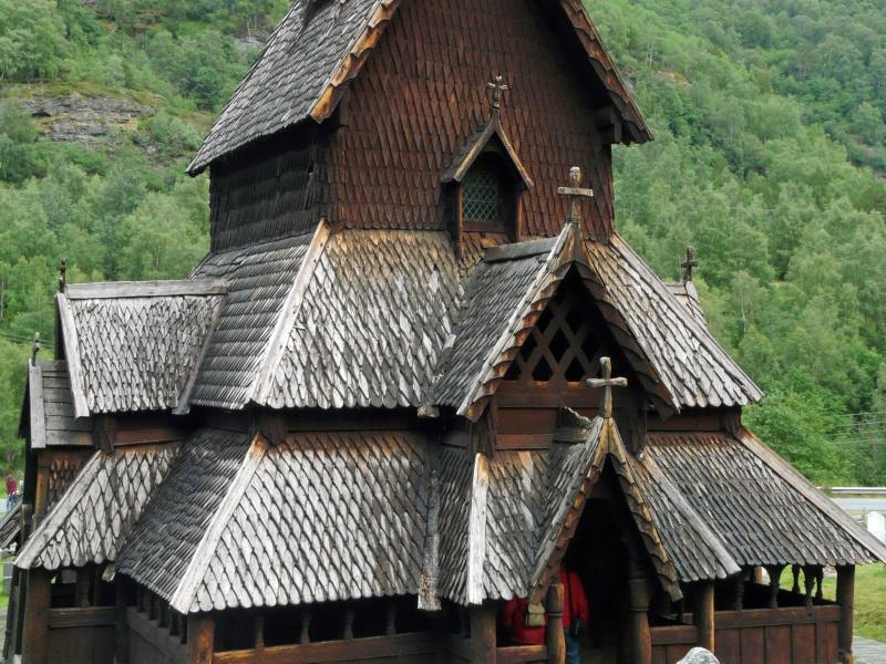 """Norvège : Les """"stavkirke"""", églises en """"bois debout"""", et secondairement bien d'autres aspects de ce magnifique pays et de sa culture... P1040914"""