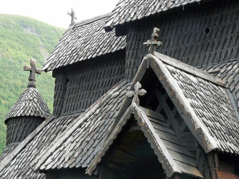 """Norvège : Les """"stavkirke"""", églises en """"bois debout"""", et secondairement bien d'autres aspects de ce magnifique pays et de sa culture... P1040915"""