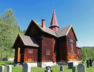 """Norvège : Les """"stavkirke"""", églises en """"bois debout"""", et secondairement bien d'autres aspects de ce magnifique pays et de sa culture... - Page 9 Rollag12"""