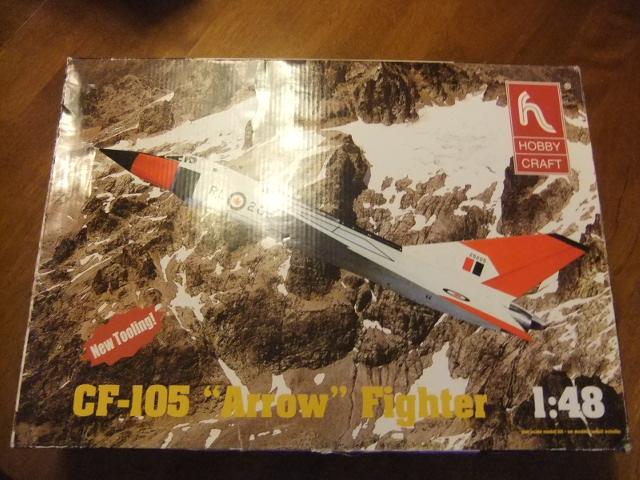 toujours a la recherche CF-105 ARROW au 1/48 de HOBBYCRAFT  - Page 2 Dscf1220