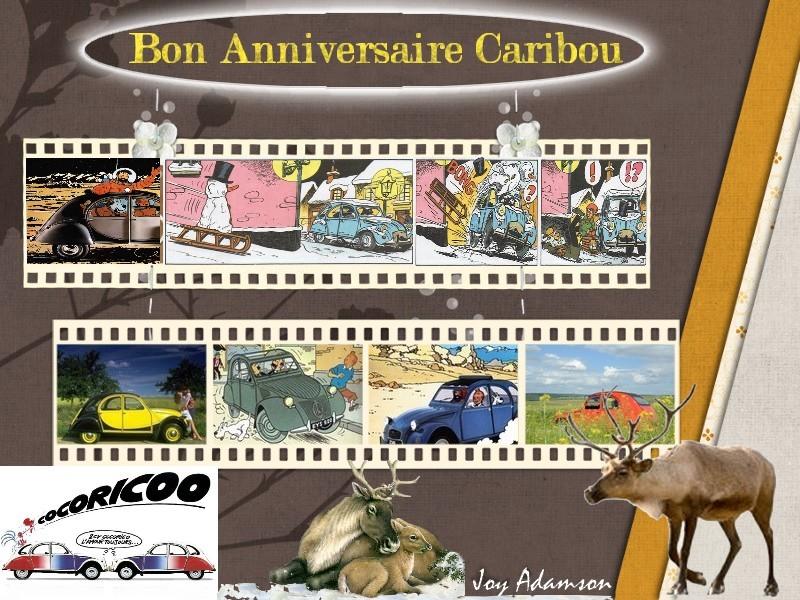 Bon anniversaire Caribou Caribo11