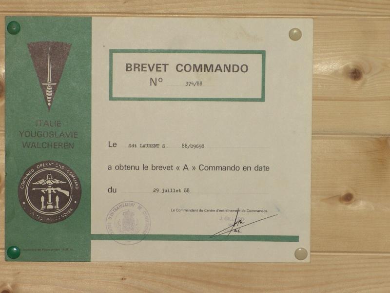 brevet para commando belge 00712