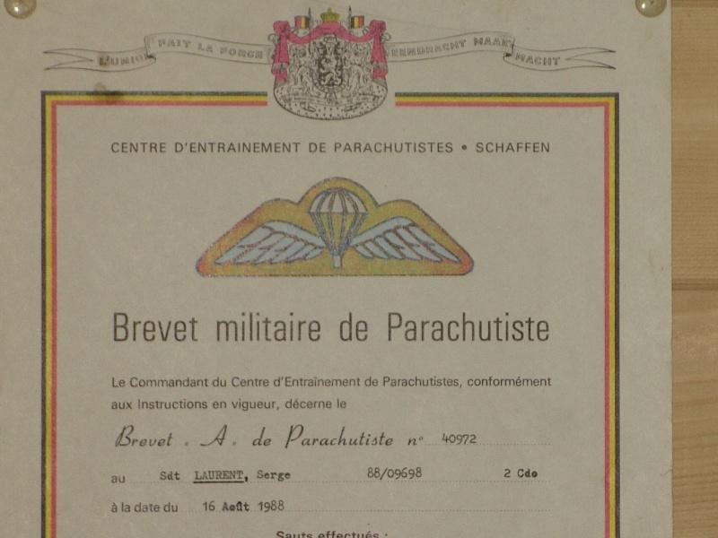 brevet para commando belge 00910