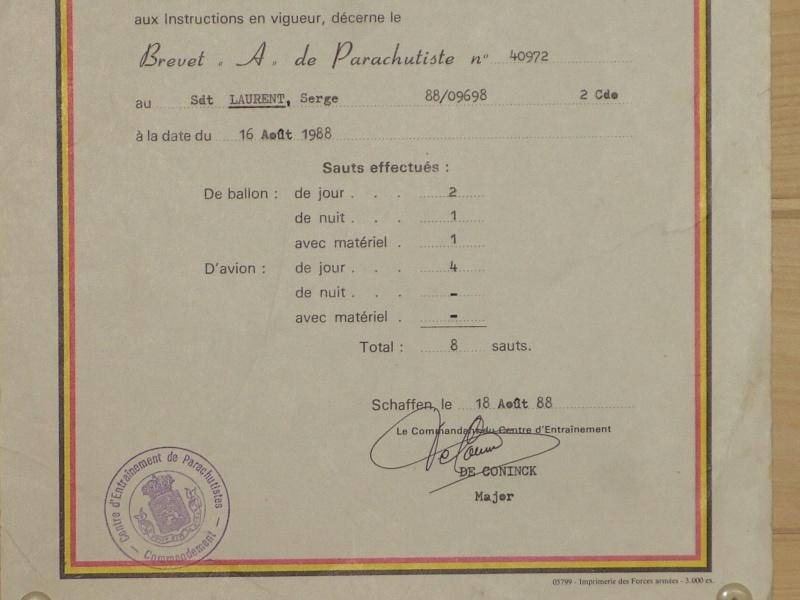 brevet para commando belge 01011