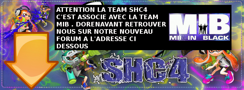 TEAM SHC4 SPLATOON