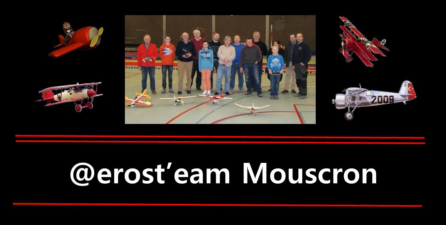 L'Aéros'Team : L'équipe d'aéromodélistes électrique de Mouscron.