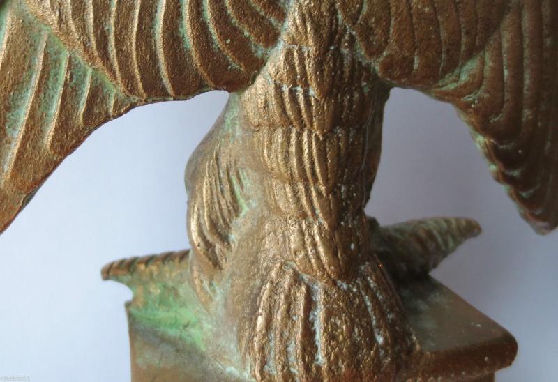 URGENT  SVP authentification Aigle Hampe 1er empire _57_611