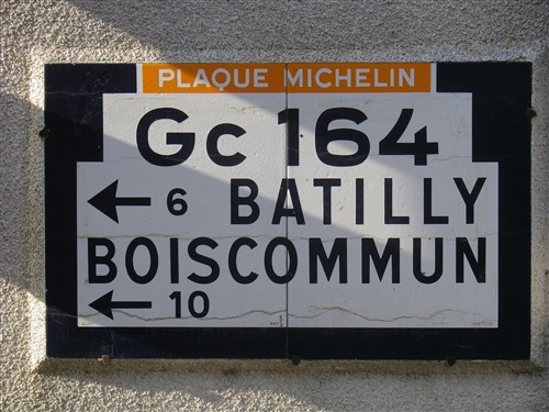 Panneaux MICHELIN, TCF, ACF ou autres Est20113