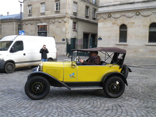 La Traversée de Paris en anciennes, 10 Janvier 2016. Trpaja27