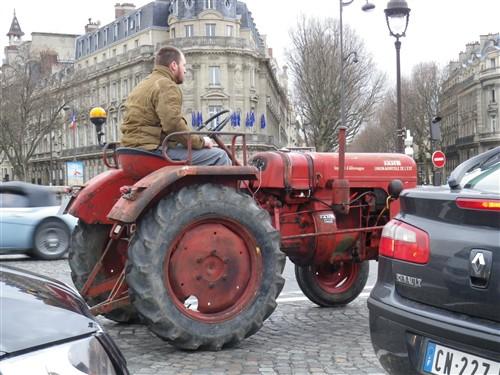 La Traversée de Paris en anciennes, 10 Janvier 2016. Trpaja61