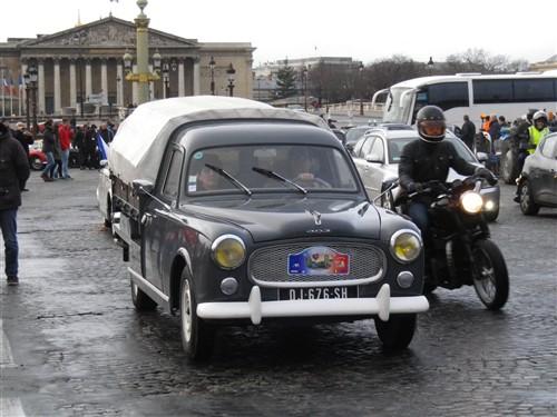 La Traversée de Paris en anciennes, 10 Janvier 2016. Trpaja68