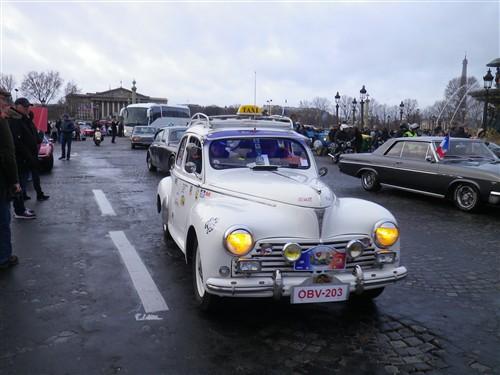 La Traversée de Paris en anciennes, 10 Janvier 2016. Trpaja71