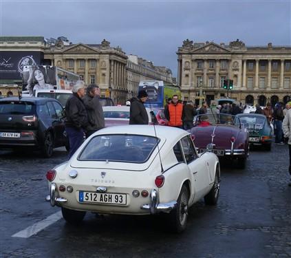 La Traversée de Paris en anciennes, 10 Janvier 2016. Trpaja78