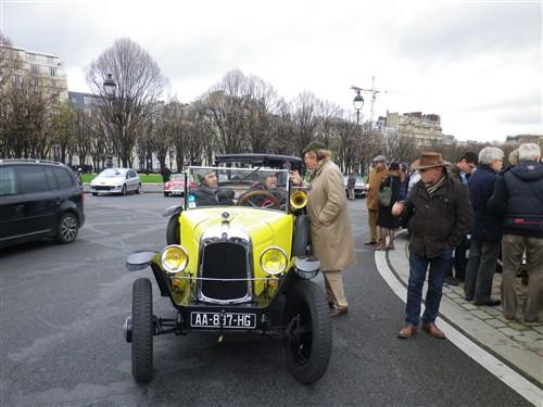 La Traversée de Paris en anciennes, 10 Janvier 2016. Trpaja90