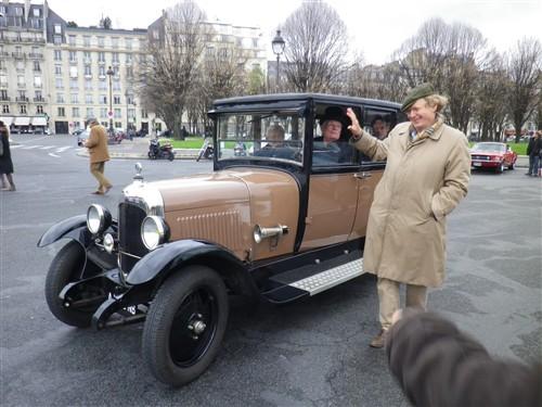 La Traversée de Paris en anciennes, 10 Janvier 2016. Trpaja92