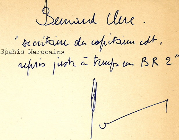 6/1er RMSM: Journal de Marche (16/11—30/12/1944) Signat10