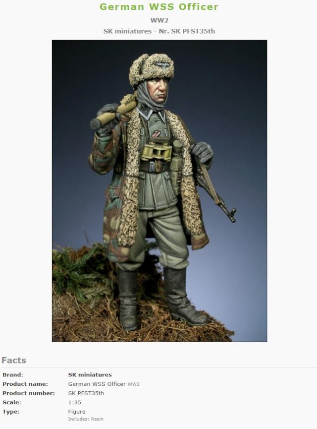 German SS officier 1/35 (marque :SK miniatures) 13-12-11