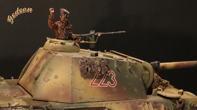 Figurine Alpine 1/35 (ref:35139 WSS Panzer Commander) Equipa16