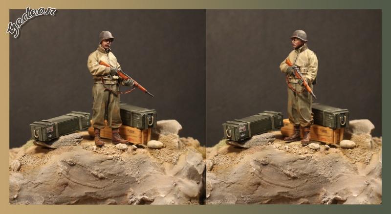 Alpine 35109 WW2 US Infantry Sergent U.S. 1/35 Soldat15