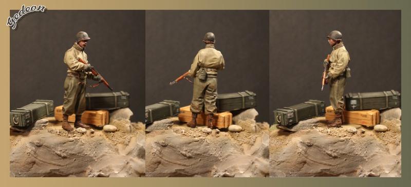 Alpine 35109 WW2 US Infantry Sergent U.S. 1/35 Soldat16
