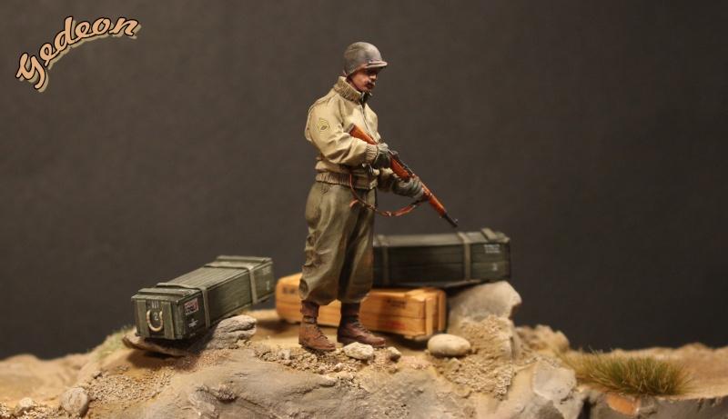 Alpine 35109 WW2 US Infantry Sergent U.S. 1/35 Soldat17