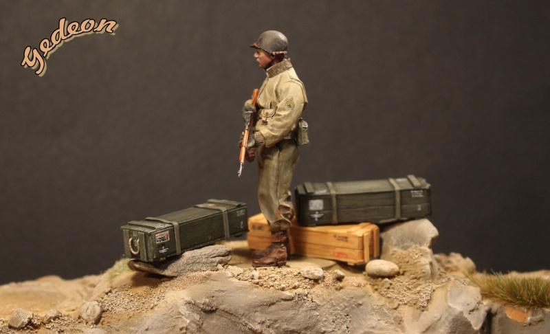 Alpine 35109 WW2 US Infantry Sergent U.S. 1/35 Soldat18