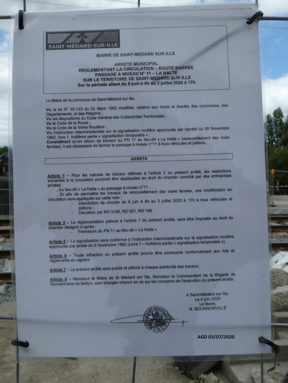 8 ans après le drame du PN, mise en service du viaduc de St Médar/I P1030611